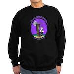 Goth Hula Girl Sweatshirt (dark)