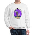 Goth Hula Girl Sweatshirt