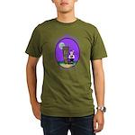 Goth Hula Girl Organic Men's T-Shirt (dark)