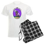 Goth Hula Girl Men's Light Pajamas