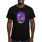 Goth Hula Girl Men's Fitted T-Shirt (dark)