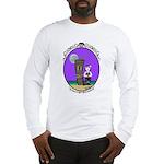 Goth Hula Girl Long Sleeve T-Shirt