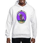 Goth Hula Girl Hooded Sweatshirt