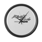 Monte Carlo Large Wall Clock