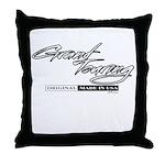 Grand Touring Throw Pillow