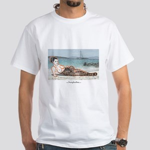 No Strings Attached White T-Shirt