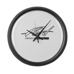 Ford Large Wall Clock