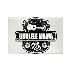 Ukulele Mama Rectangle Magnet
