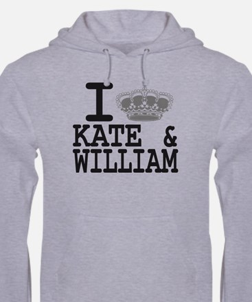 KATE and WILLIAM CROWN Hoodie