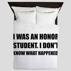 Honor Student What Happened Queen Duvet