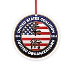 USCJO Logo Round Ornament