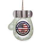 USCJO Logo Mitten Ornament