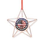 USCJO Logo Copper Star Ornament