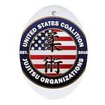 USCJO Logo Oval Ornament