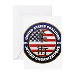 USCJO Logo Greeting Cards