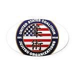 USCJO Logo Oval Car Magnet
