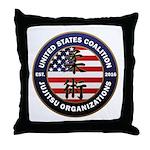 USCJO Logo Throw Pillow