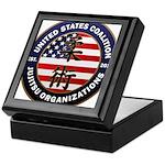 USCJO Logo Keepsake Box