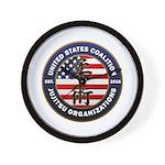 USCJO Logo Wall Clock