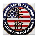 USCJO Logo Tile Coaster
