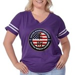 USCJO Logo Women's Plus Size Football T-Shirt
