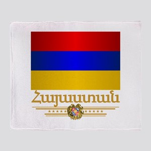 Armenian Pride Throw Blanket