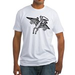 Pterodactyl Fitted T-Shirt