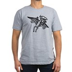 Pterodactyl Men's Fitted T-Shirt (dark)