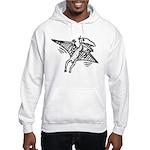 Pterodactyl Hooded Sweatshirt