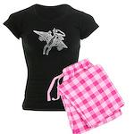 Pterodactyl Women's Dark Pajamas