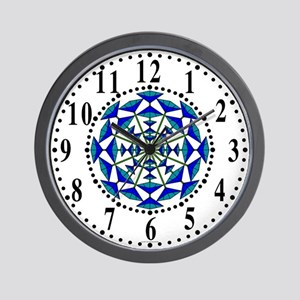 Eclectic Flower 163 Wall Clock