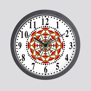 Eclectic Flower 176 Wall Clock