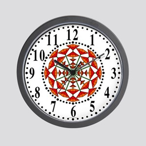 Eclectic Flower 177 Wall Clock