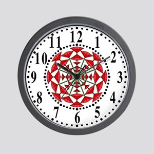 Eclectic Flower 178 Wall Clock