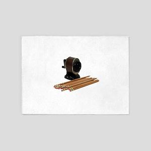 PencilsSharpened071709 5'x7'Area Rug