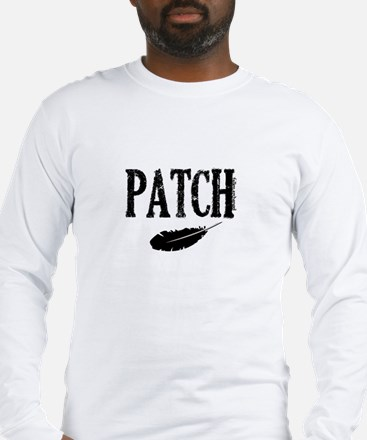 Patch and a feather Long Sleeve T-Shirt