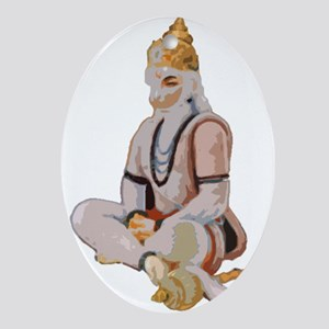 Hanuman Oval Ornament