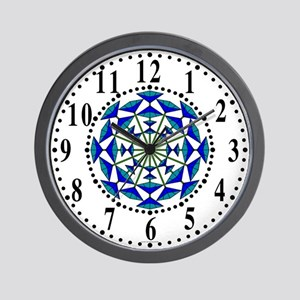 Eclectic Flower 145 Wall Clock