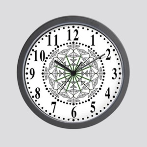 Eclectic Flower 150 Wall Clock