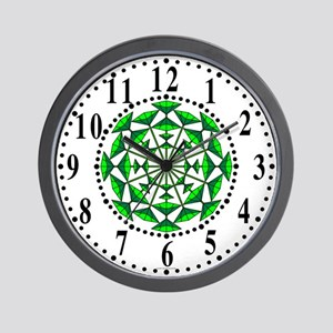Eclectic Flower 152 Wall Clock