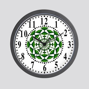 Eclectic Flower 153 Wall Clock