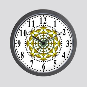 Eclectic Flower 157 Wall Clock