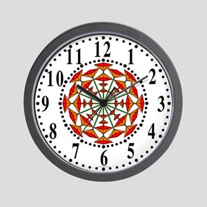 Eclectic Flower 158 Wall Clock