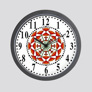 Eclectic Flower 159 Wall Clock