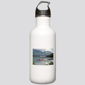 Alaska: Boat on Trail Stainless Water Bottle 1.0L