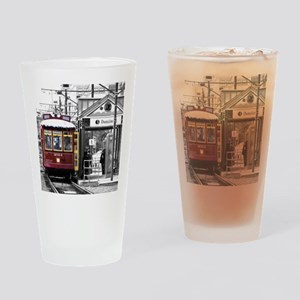 Riverfront Run Drinking Glass