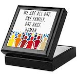 We Are All One. Keepsake Box
