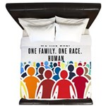 We Are All One. King Duvet
