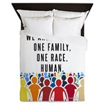 We Are All One. Queen Duvet
