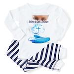 I Believe In God & Science Pajamas